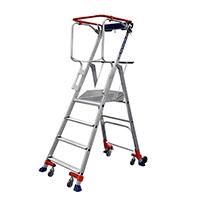 echelle Roulante Wheelys - Modèle 4 marches