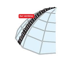 echelle de toit de verrieres