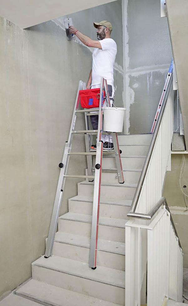 utilisation echelle 4123 escalier