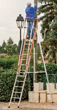 Utilisation de l'échelle de pylone mixte