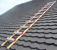 echelle de toit alu et bois
