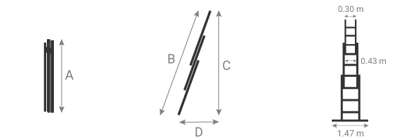 schema echelle coulissante 6261