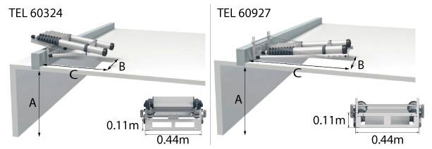 schema echelle telescopique grenier