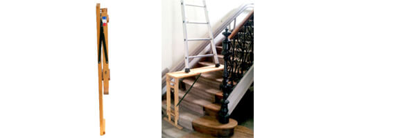 schema du taquet d'escalier