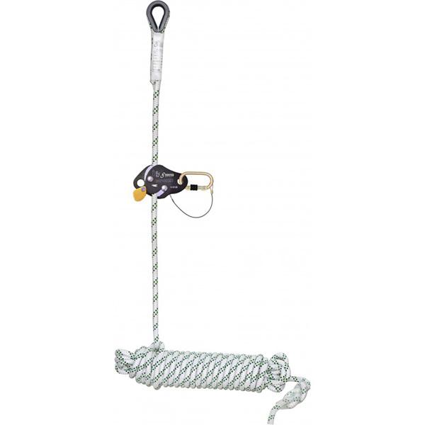 antichute compact coulissant sur corde multi usage