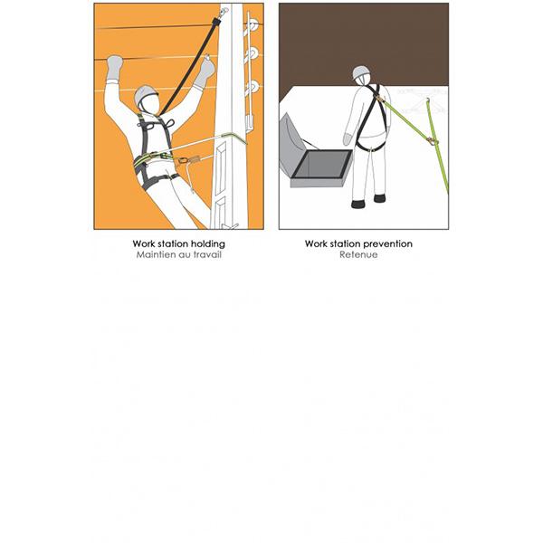 ceinture de maintien au travail securite usage