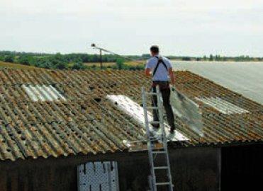 chemin acces toit