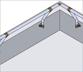 Garde-corps aluminium Incliné