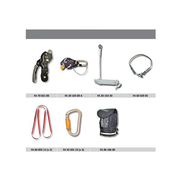 kit antichute avec systeme d evacuation pre incorpore 50 m
