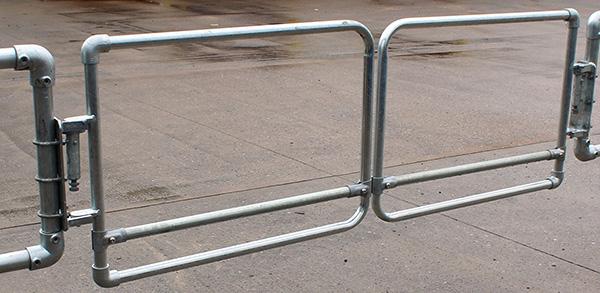 Portillon de sécurité double Kee Gate