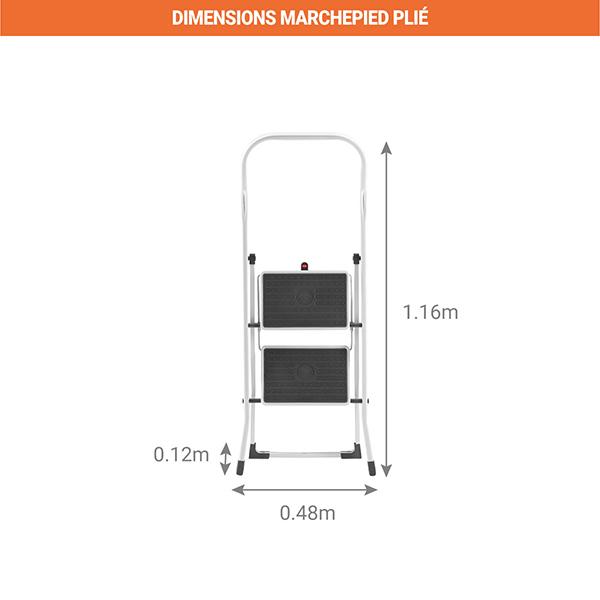 dimensions marchepied plie 4312