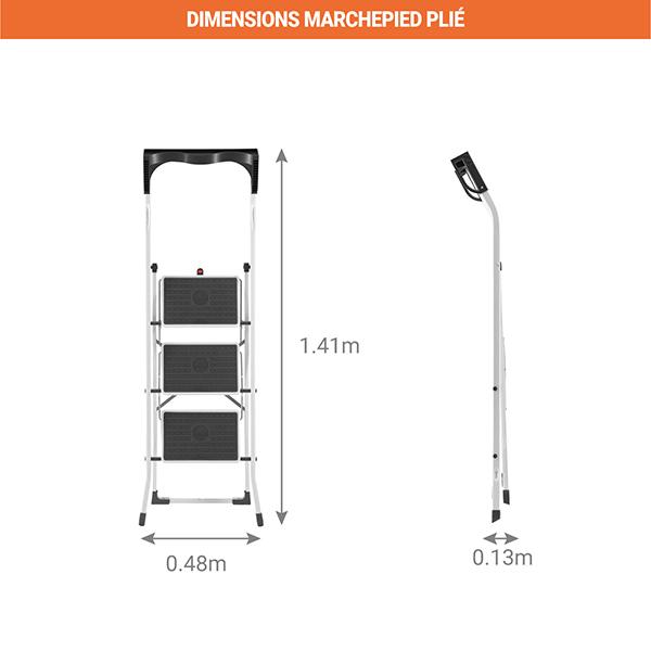 dimensions marchepied plie 4343