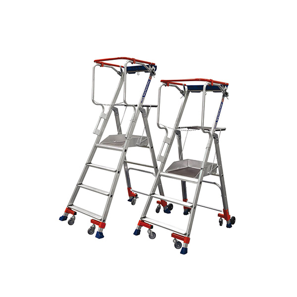 gamme escabeau roulant wheelys