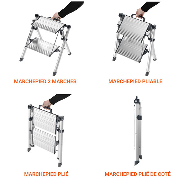marchepied professionnel pliable 4310100