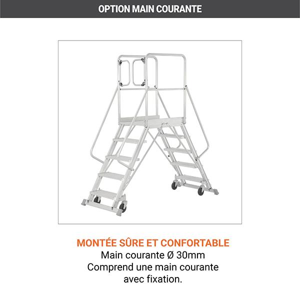 options plateforme roulante 6889 P
