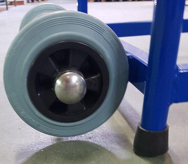 roue de l'escabeau