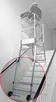Kit escalier grande hauteur pour gazelle