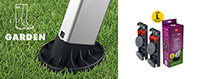 pieds interchangeables easyclix garden
