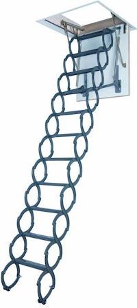 escalier escamotable accordéon