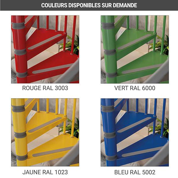 coloris disponibles escalier 912212