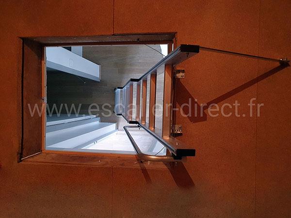 escalier acces grenier 9344