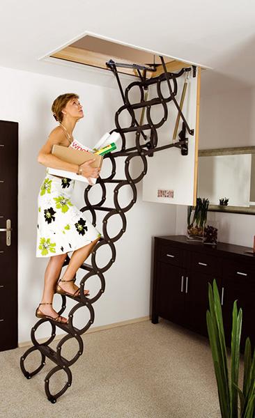 escalier accordéon lst