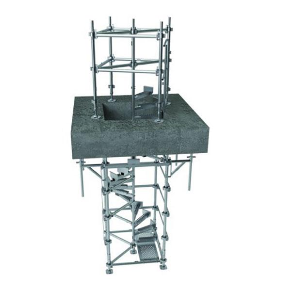 escalier de chantier HELISTEP