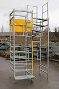 escalier de chantiers