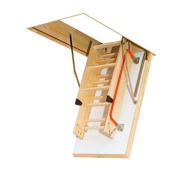 escalier escamotable LTK pliee