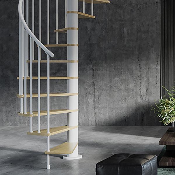 escalier espace reduit HOOP horaire