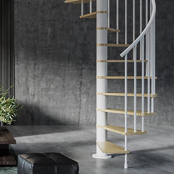 escalier espace reduit HOOP situation