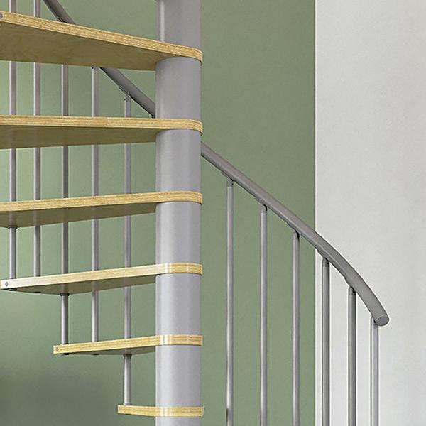 escalier espace reduit anti horaire