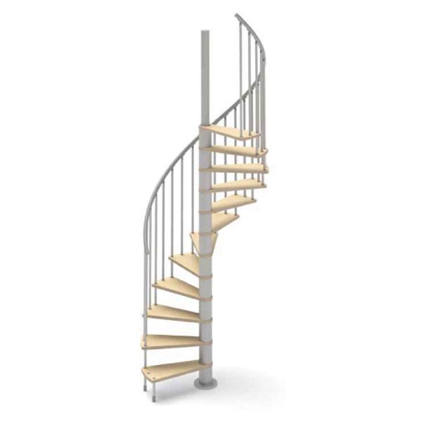 escalier helicoidal bois hoop
