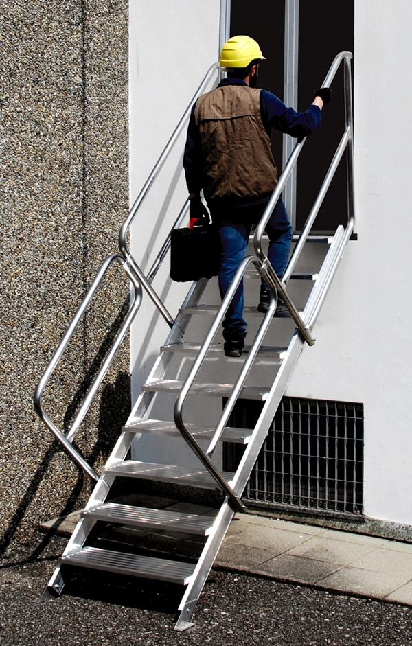 escalier industriel fixe sca73