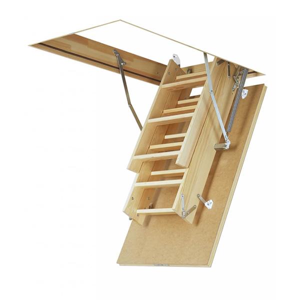 Escalier escamotable bois avec ou sans rampes de s curit - Escalier direct usine ...