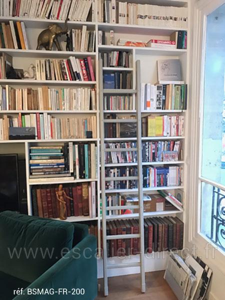 escalier meunier BSMAG FR 200 bibliotheque