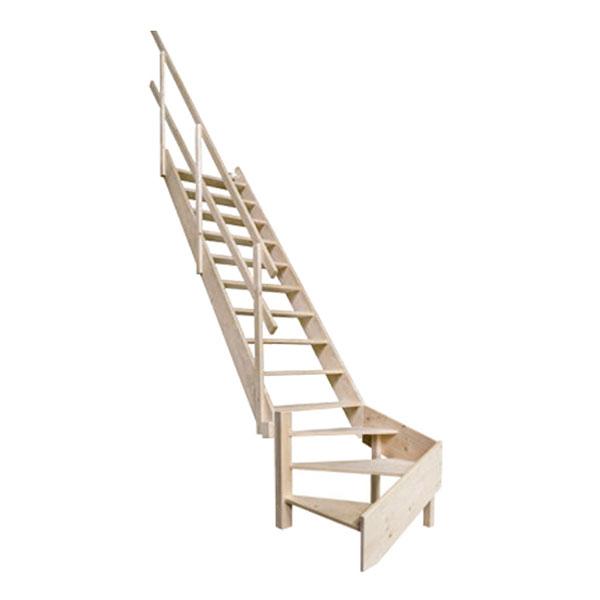escalier meunier bois MSW L