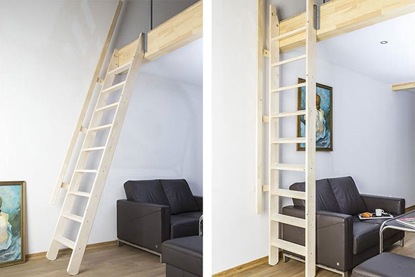 escalier meunier msp naturel
