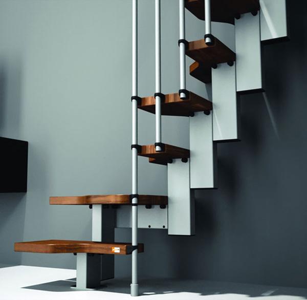 escalier de meunier en bois moyer