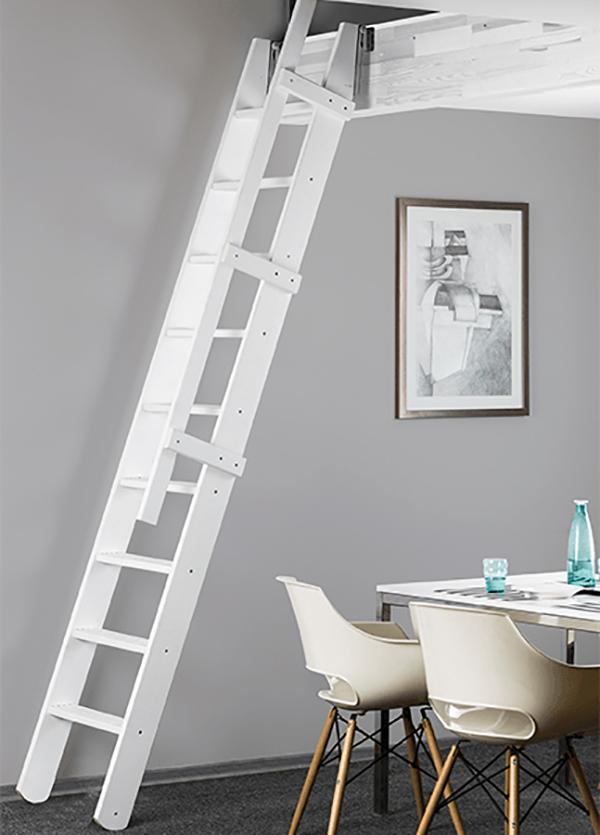 escalier msp blanc