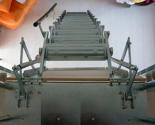 Escalier accordéon Palco
