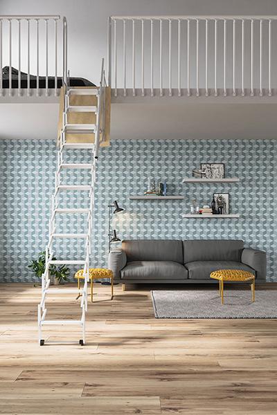 Escalier escamotable Palco blanc