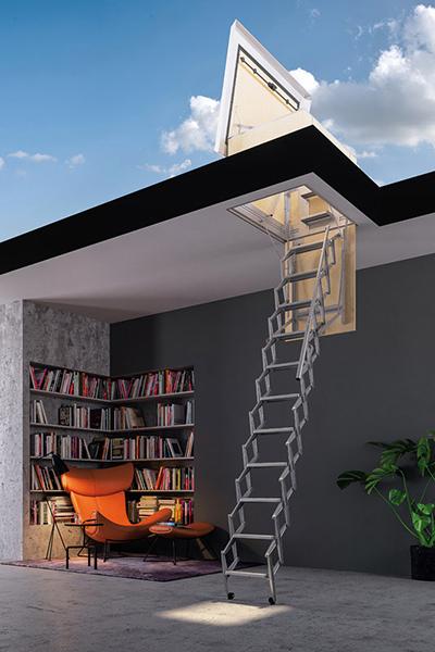 escalier pour acces terrasse