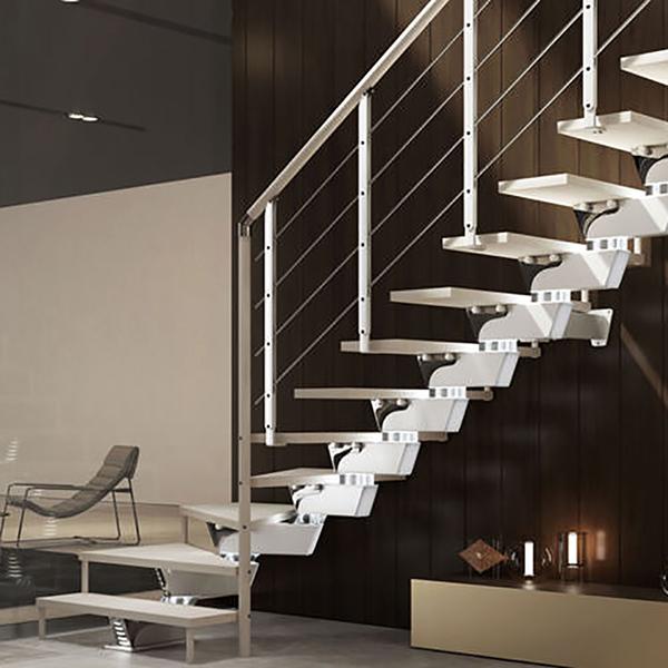 escalier quart tournant minimal knock