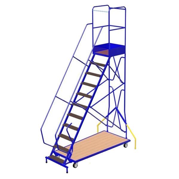escalier roulant avec plateforme