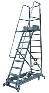 escalier roulant pour picking