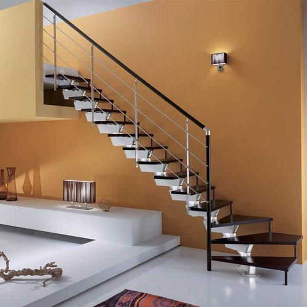escalier sur mesure avec palier