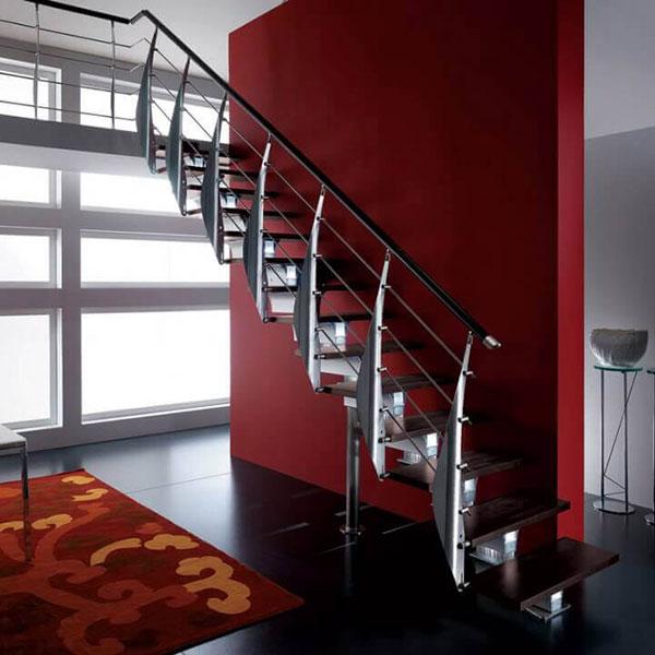 escalier sur mesure droit