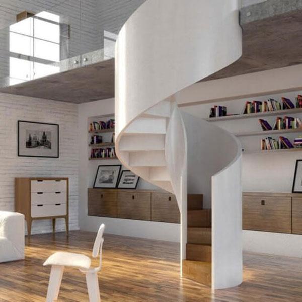 escalier sur mesure en beton
