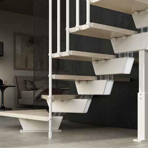 escalier tournant naturel knock
